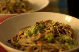 linguine coi broccoli